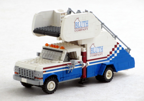 Lego Arrested Development Stair Truck
