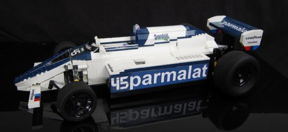 Lego Brabham BMW BT50