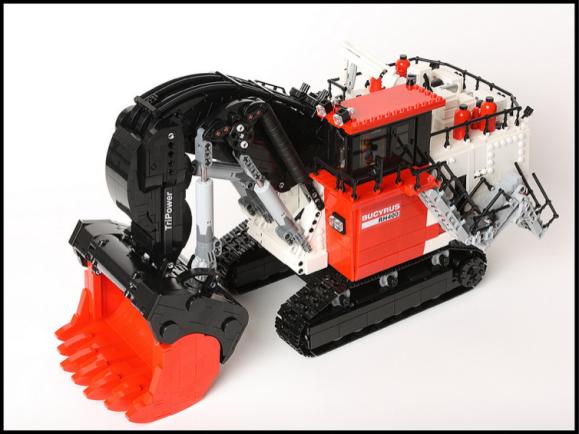 Lego Bucyrus RH400 Mining Shovel