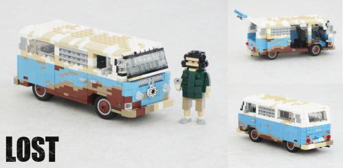 Lego Volkswagen Camper Lost
