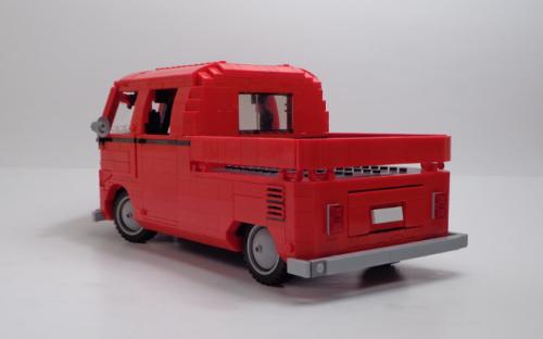 Lego Volkswagen T1 Crew Cab