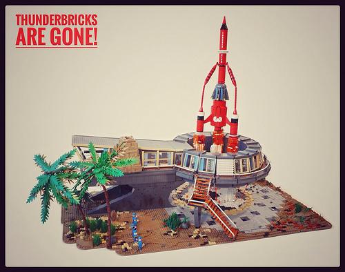 Lego Thunderbird 3
