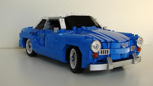 Lego Volkswagen Karmann Ghia
