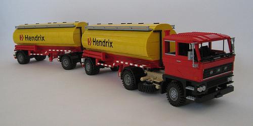 Lego DAF 2800 Henrix Tanker
