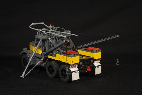 Lego Mack LMSW RC SBrick