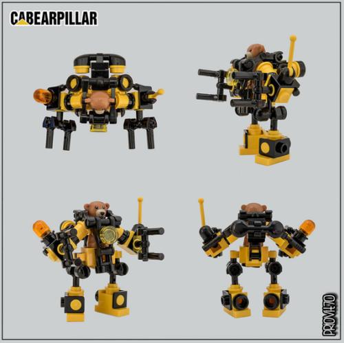 Lego Teddy Bear Mech