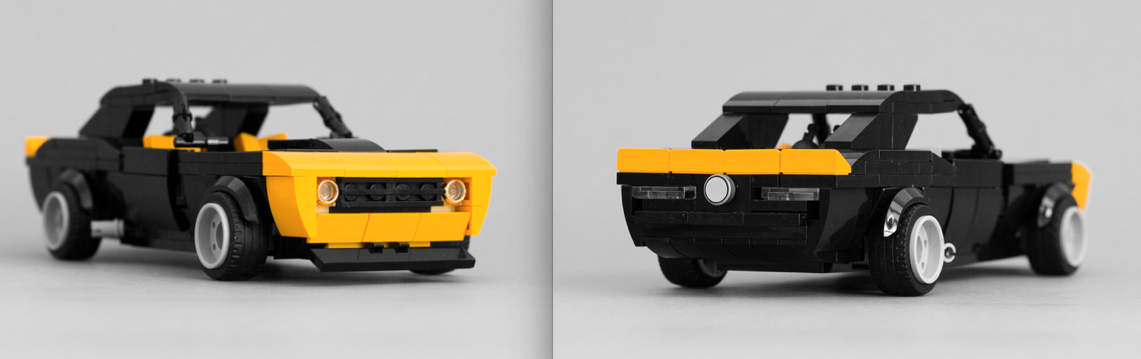 Lego Chevrolet Camaro Ss The Lego Car Blog