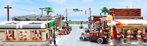 Lego Biker Street