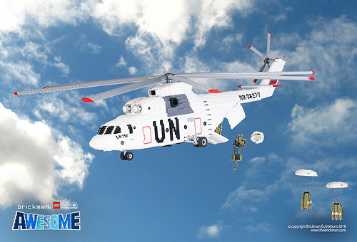 Lego UN Mil Mi-26 Helicopter
