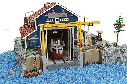 Lego Finnians Shipyard