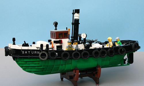 Lego Saturn Steam Tug
