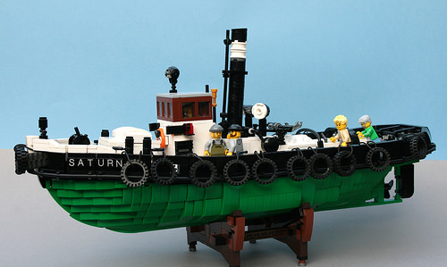 Lego Saturn Steam Tug