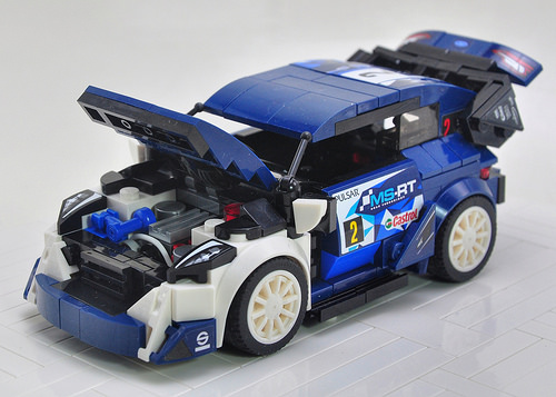 lego ford fiesta m sport wrc the lego car blog. Black Bedroom Furniture Sets. Home Design Ideas