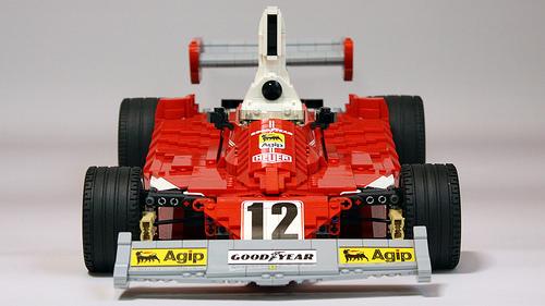 Lego Ferrari 312T Nikki Lauda