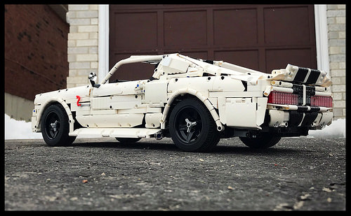 Lego Technic Ford Mustang Eleanor 1967 | THE LEGO CAR BLOG