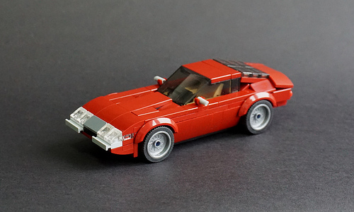 Lego Ferrari 365GTB/4 Daytona