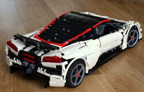 Lego Technic V10 Supercar