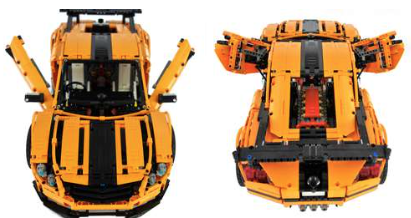 Lego Technic Constrictor Supercar Crowkillers