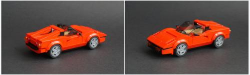 Lego Ferrari 308 GTS