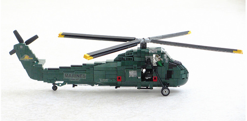 Lego Sikorsky H-34 Seahorse
