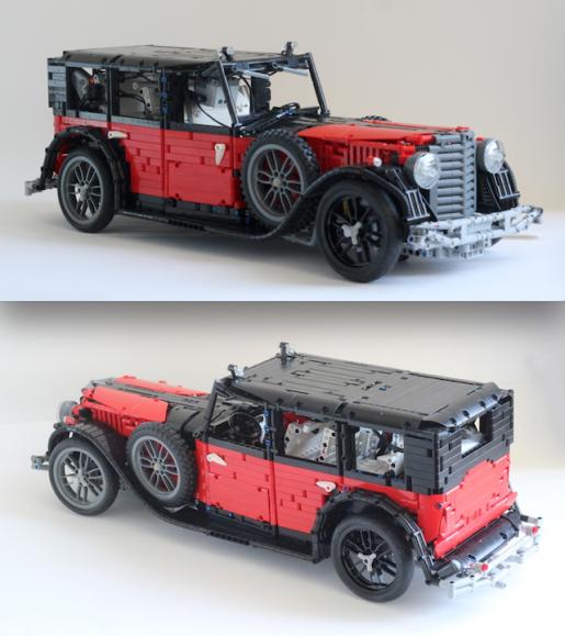 Lego Technic Großer Mercedes 770