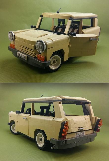 Lego Trabant