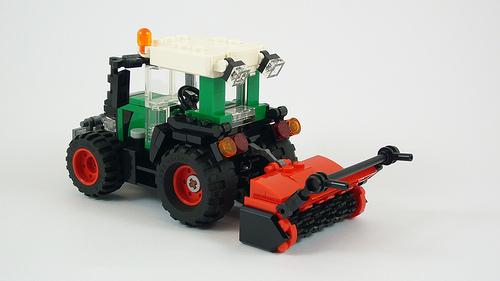 Lego Fendt 500 Vario Tractor