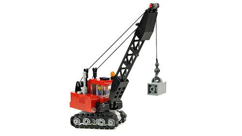 Lego Crawler Crane