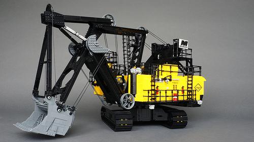 Lego Marion 204-M Superfront Mining Shovel SBrick