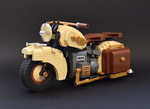 Lego Dispatch Bike