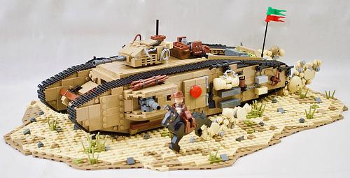 Lego Indiana Jones Tank