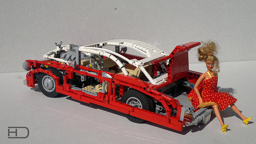 Lego Technic Lead Sled