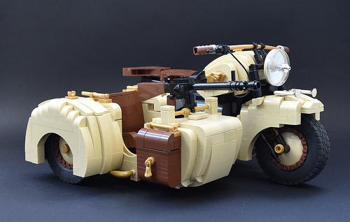 Lego Afrika Korps Bike