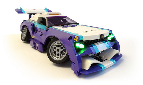 Lego Technic Remote Control Stanced Car