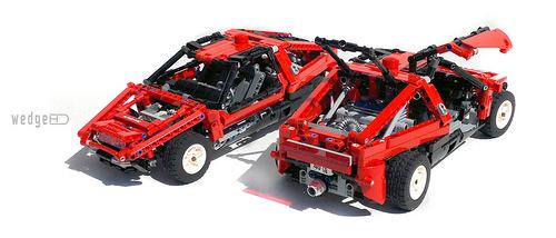 Lego Technic Wedge Concept