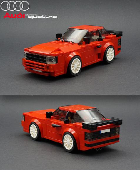 Lego Audi Sport quattro