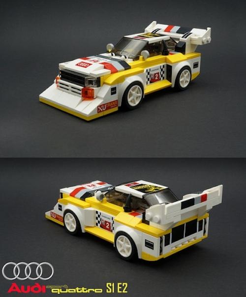 Lego Audi Sport quattro S1 E2