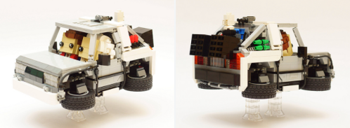 Lego Brickheadz DeLorean Back to the Future