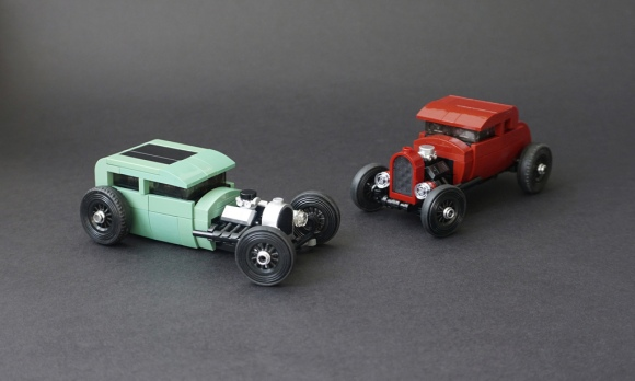 Lego Hot Rods