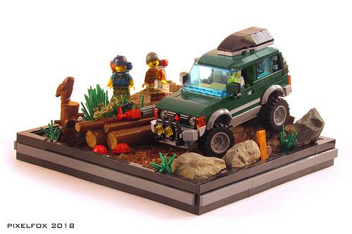 Lego Mitsubishi Shogun Pajero