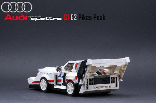 Lego Audi Sport quattro S1 E2 Pikes Peak