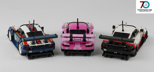 Lego Porsche 911 Le Mans 70th