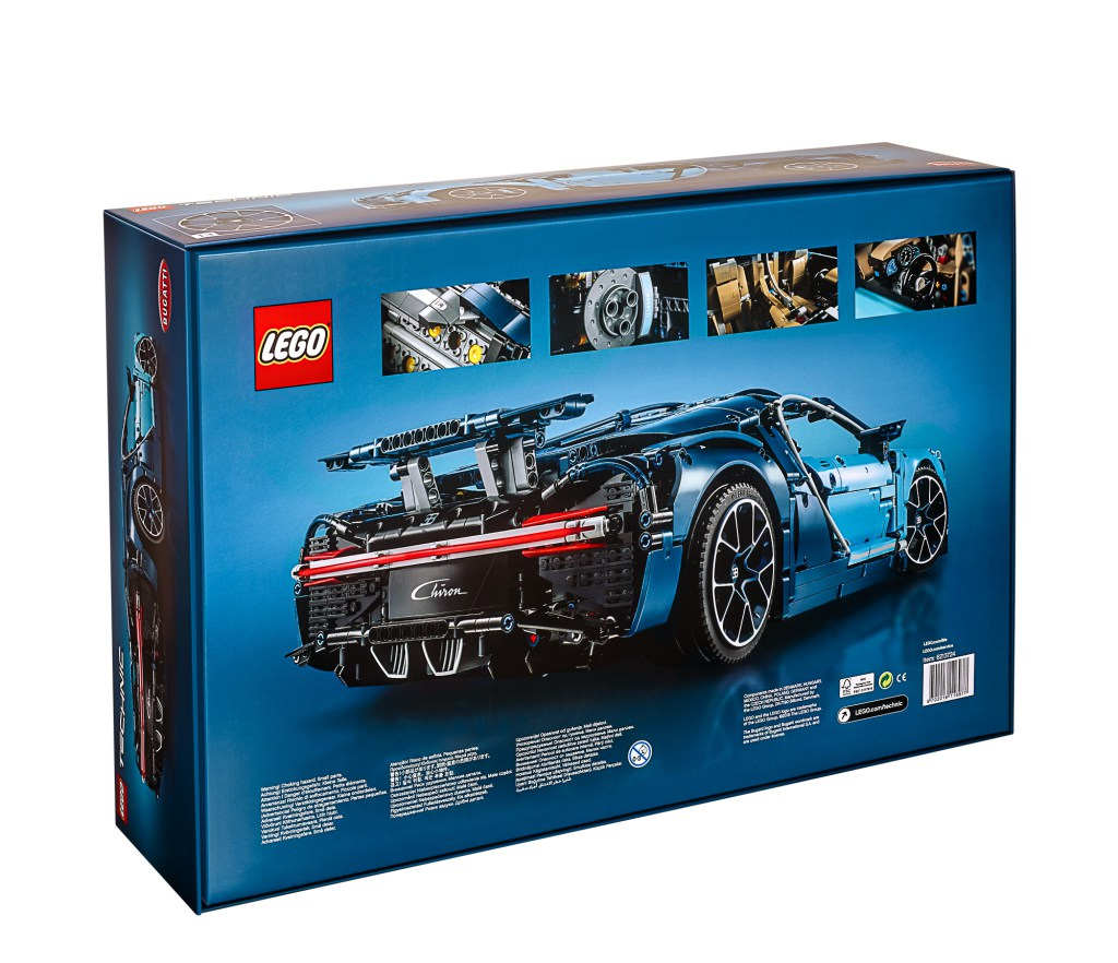 Lego Technic 42083 Bugatti Chiron Set Preview The Lego Car Blog