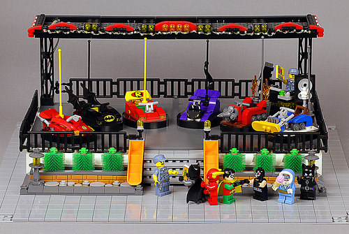 Lego Superhero Dodgems