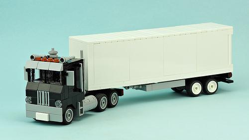 Lego Semi Truck