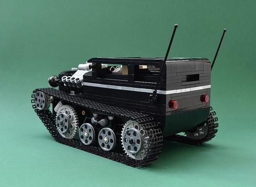 Lego Tracked Hot Rod