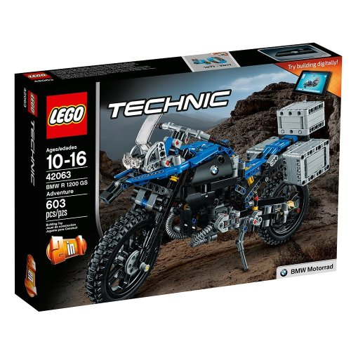Lego Technic 42063 BMW R 1200 GS Adventure Review