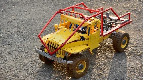 Lego Ural Ostaszewski Truck Trial 4x4