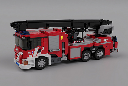 Lego Scania P410 Fire Truck