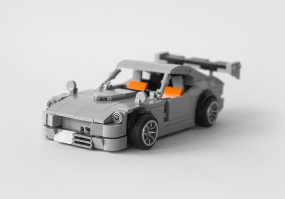 Lego Datsun 240Z Drift